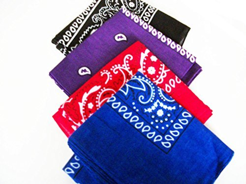 four-pack-paisley-design-bandanas-black-purple-blue-red-fast-post-by-unknown