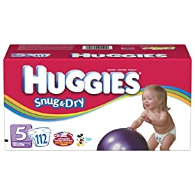 Huggies Snug & Dry Diapers, Size 3 , 144-Count