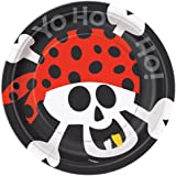 Pirate Party Dessert Plates, 8ct