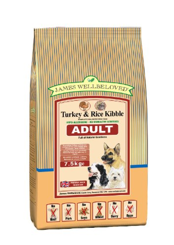 James Wellbeloved Adult Turkey and Rice Kibble 7.5 kg
