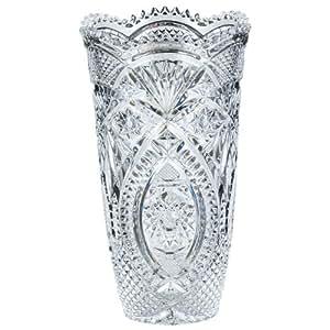 cristal d 39 arques 9295551 premio vase height 20 cm kitchen home. Black Bedroom Furniture Sets. Home Design Ideas