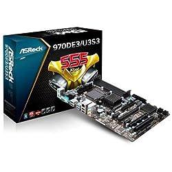ASRock 970DE3/U3S3 AMD 770 DDR3 800 - AM3+ Motherboards