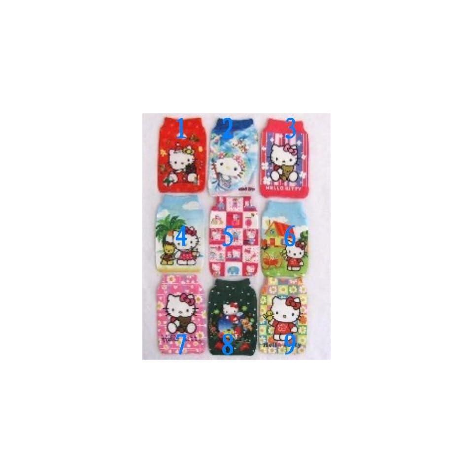 hot 30pcs/lot hello kitty design mobile phone handbag holder /4 bag pouch