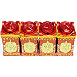 Festive India Brings Traditional And Religious Incarnations Candle Stand For Diwali Season In Set Of 4 Pc.