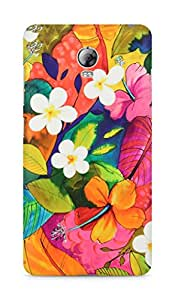 Amez designer printed 3d premium high quality back case cover for Lenovo Vibe P1 (Painting Flowers)