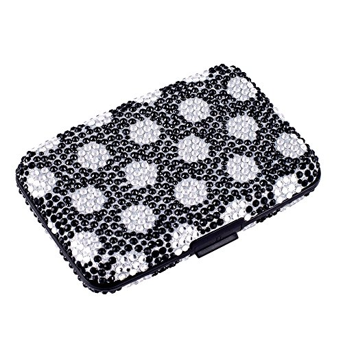 02. RFID Anti-Theft Bling Credit Card/Business Card Caddy Holder