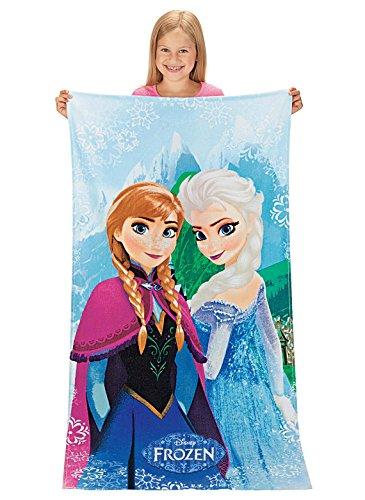 Disney Frozen 'Snowflake' 100% Cotton Beach Towel image