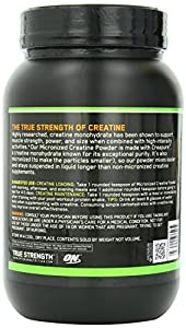 Optimum Nutrition Micronized Creatine Powder, Unflavored, 4.4 lbs (2000g) , Pack of 2