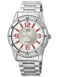 Q&Q Silver Dial Men's Watch - Q686N224Y