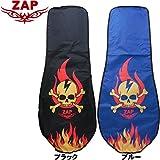 ZAP GOLF ザップゴルフ SKULL&FIRE スカル&ファイヤー柄 トラベルカバー TC002 (ブラック)