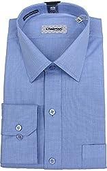 Chairman Men's Cotton Shirt (romch9145mblue_42, Blue, 42)