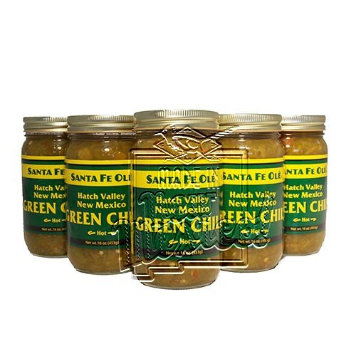 Santa Fe Ole Hatch Valley New Mexico Green Chile Hot (6) (New Mexican Green Chili compare prices)