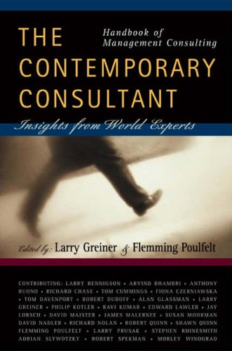 Handbook of Management Consulting: The Contemporary...