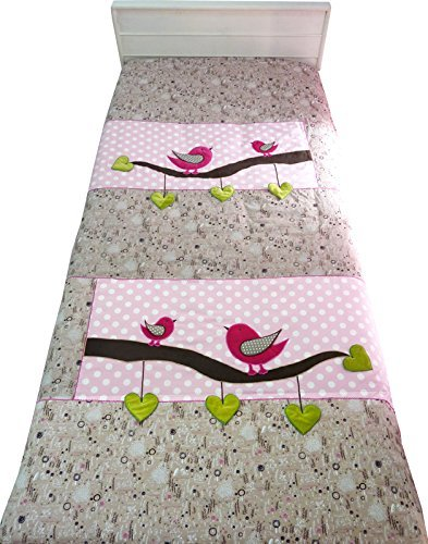 Little Pipal Lil Birdy Quilt Cover Single