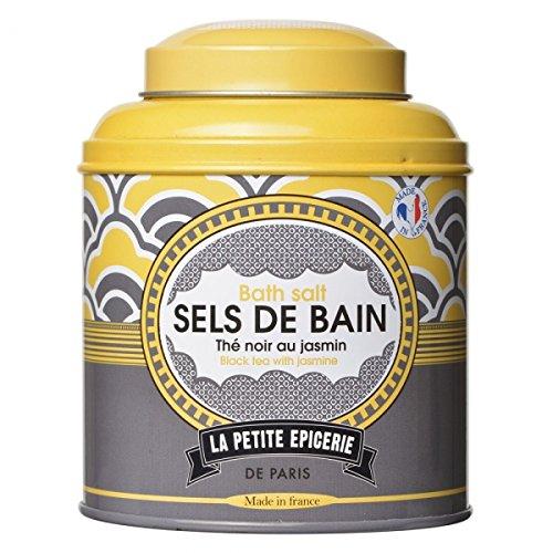 Boîte de Sels de bain Thé noir au jasmin La petite épicerie de Paris 35-2S-803