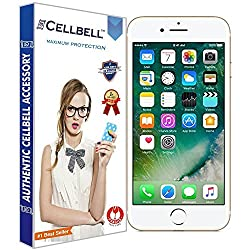 Cellbell TM Apple iphone 7 9H Premium Tempered glass screen protector with FREE Installation Kit(85% OFF LAUNCH OFFER)