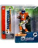 McFarlane Toys NFL Sports Picks Series 10 Action Figure Ricky Williams (Miami Dolphins) Orange Jersey Variant