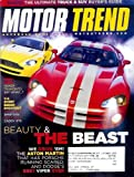 img - for Motor Trend - November 2005: Dodge Viper SRT10 & More! book / textbook / text book