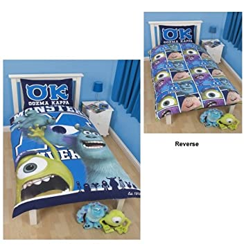Monsters Inc u0027Universityu0027 Reversible Duvet Cover With Pillowcase Set  sc 1 st  Groovy Kids Gear & Monsters Inc Bedroom Decor Archives - Groovy Kids Gear