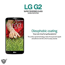 MoArmouz® - Super Tempered Glass Screen Protector for LG G2 - Screen Guard- Premium Quality Ultra Thin Screen Glass - Guaranteed Protection / HD /9H Hardness 3D Touch Compatible / Mobile Accessories / Screen Protectors