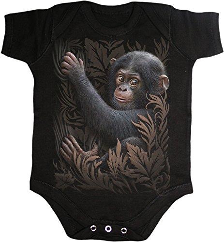 Spiral -  Body  - Maniche corte  - Bebè maschietto nero X-Small