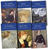 Charlotte Bronte Charlotte Bronte Collection 6 Books Set Pack RRP: £33.94 (Wordsworth Classics) (The Professor, Shirley, Jane Eyre, Villette, Agnes Grey, The Tenant of Wildfell Hall)
