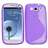 Samrick S Wave Hydro Gel Protective Case for Samsung Galaxy S3 i9300/LTE 4G - Purple