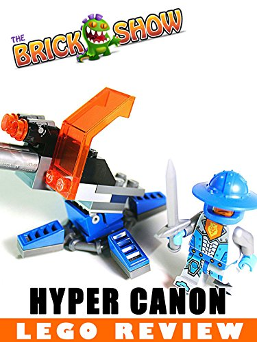 LEGO Nexo Knights Knighton Hyper Cannon Review LEGO 30373
