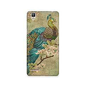 MOBICTURE Bird Premium Designer Mobile Back Case Cover For Oppo F1