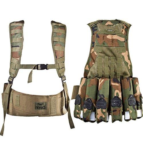Vest - V-TAC Echo-WOODLAND-S/M
