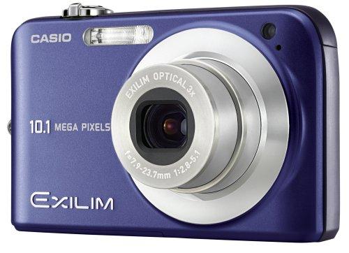 Exilim EX-Z1050 bleu  Livré avec chargeur, batterie lithium