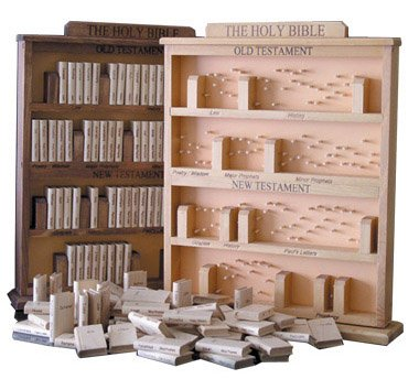 Picture of Intelligent Minds Bible Bookcase Puzzle (B001QK2IF8) (3D Puzzles)
