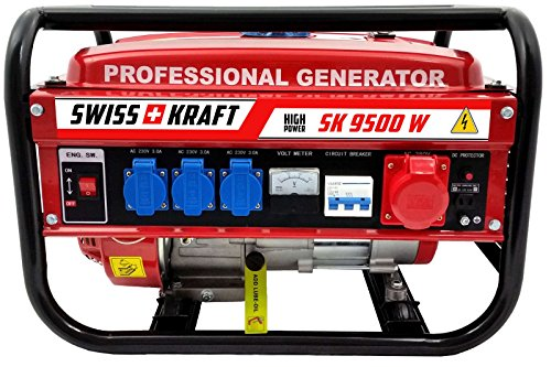 4-Takt 9500 W Stromerzeuger Stromgenerator Generator...
