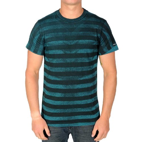 Volcom - Frackdom S/S Basic Tee Men S/S Basic T-Shirt, Size: X-Large, Color: Turquoise Heather