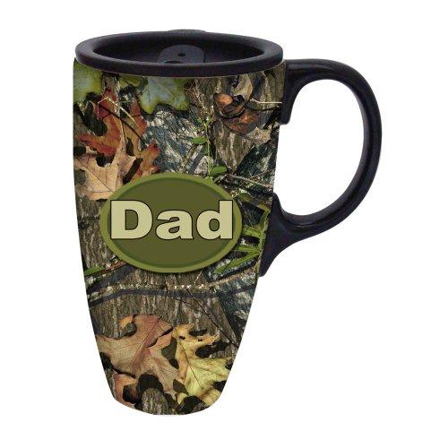 Mossy Oak Dad Traditional Travel Coffee Mug