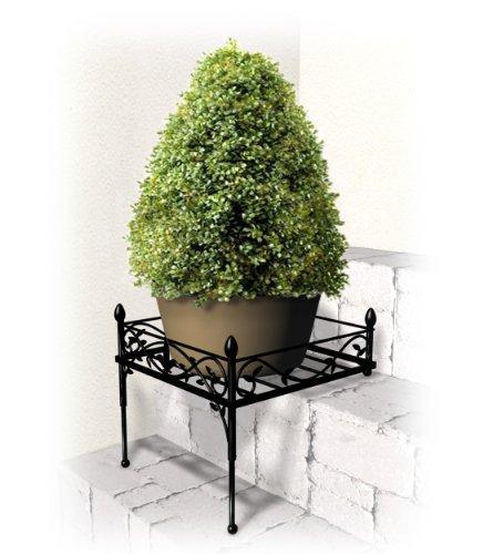 Ps512bk Step Plant Stand Large Black Home Garden Plants