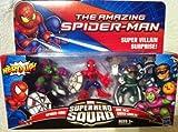 Marvel Super Hero Squad Action Figure SPIDER-MAN DOC OCK GREEN GOBLIN 3 PACK