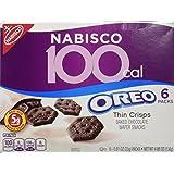 100 Calorie Packs Oreo Thin Crisps, 6-Count Packs (Pack of 2)