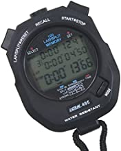 Sport Supply Group 1188271 85 x 5 x 15 inches 100 Lap Memory Stopwatch