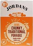Jordans Traditional Chunky Porridge 750 g (Pack of 6)