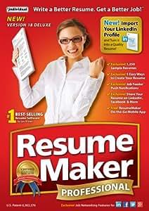 ResumeMaker Professional Deluxe 18 [Download]
