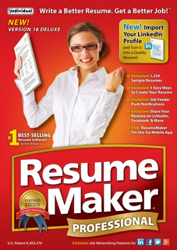 Resumemaker Professional Deluxe 18 [Download]
