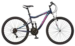 Mongoose Women's Status 2.2 Mountain Bike, 16-Inch/Small