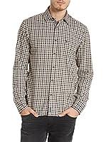 Marc O'Polo Camisa Hombre (Burdeos)