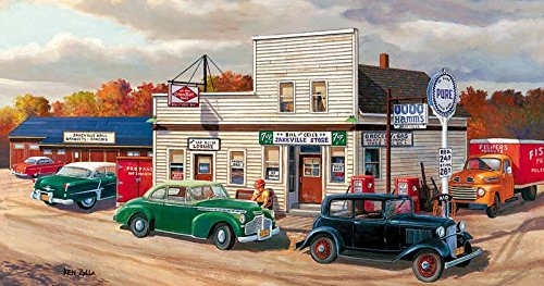Jakeville a 300-Piece Jigsaw Puzzle by Sunsout Inc.