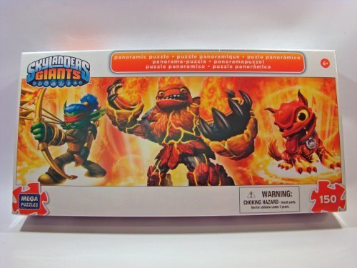 Skylanders Giants 150 Piece Jigsaw Puzzle: Hot Head - Flameslinger - Hot Dog