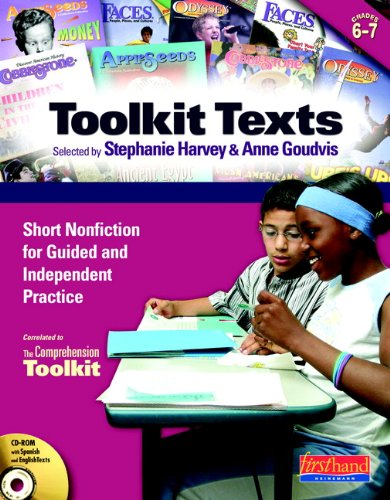 Toolkit Texts: Grades 6-7: Short Nonfiction for Guided and Independent Practice (Comprehension Toolkit)