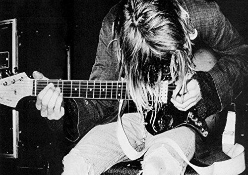 """Nirvana Kurt Cobain 39 Krist Novoselic Dave Grohl-Album fotografico grande in metallo, motivo: Rock Music Band, Best per foto con stampa A3 """"unico"""