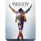 【Amazon限定】マイケル・ジャクソン THIS IS IT (スチールブック仕様/完全数量限定/特製ブックレット付き) [Blu-ray]