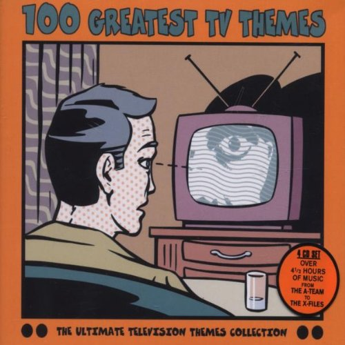 100 Greatest TV Themes by Mike / Carpenter, Pete Post,&#32;Victor Mizzy,&#32;Gian-Piero / Mellin, Robert Reverberi,&#32;Sylvester Levay and Laurie [Composer/Conductor] Johnson